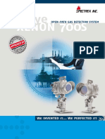 Open-path Gas Detection System