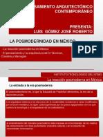 La Posmodernidad en Mexico