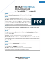 Lesson 22 - Sentences for Anki en-PT