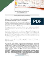 Conseil Des Ministres Du Mercredi 6 Février 2019