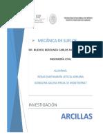 ARCILLAS INVESTIGACIÓN