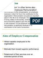 Factors Affecting Compensation