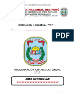 Programación Curricular Ept 2do Sec