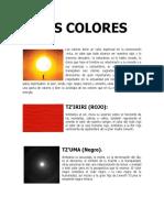 Colores Xincas