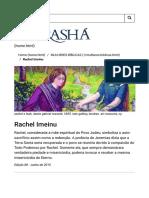 Morashá _ Mulheres Bíblicas - Rachel Imeinu