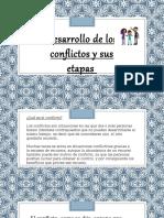 Desarrollo de Los Conflictos y Sus Etapas