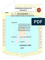 Informe de Ensayo de Rocas Vacacional 2019