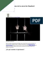 El Experimento de La Cárcel de Stanford