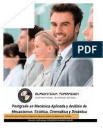 Curso Mecanica Aplicada Analisis Mecanismos Estatica Cinematica Dinamica