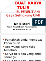03-UP4i  Membuat Karya Tulis 2018.pptx
