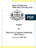SPPU TE Computer Engg Syllabus 2015 Course Titles Wef June2017