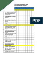 Formulir Audit Loundry
