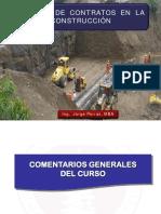 GESTIÓN DE CONTRATOS EN LA CONSTRUCCIÓN