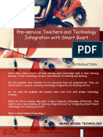 Pre-service Teacher and Technology Integration With Smart Boards