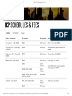 API _ ICP Schedules & Fees