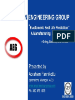 Elastomeric Seal Life Prediction -  A Manufacturing Perspective