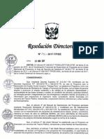 Normativa de Trabaja Perú