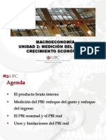 Unidad 2 Medicion Del Pbi y El Crecimiento Economico Macro
