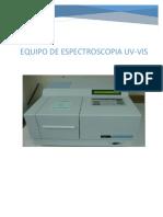 Espectroscopia Ultra Violeta Visible