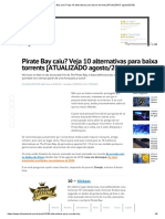 Pirate Bay Caiu_alternativas Para Baixar Torrents