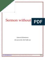Sermon without Dot