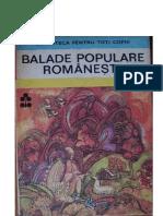 Povești Și Nuvele-1984 79 Balade Populare Romanesti