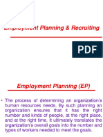 Employment Planning & Recruiting