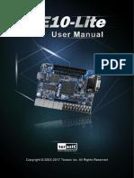 DE10-Lite User Manual
