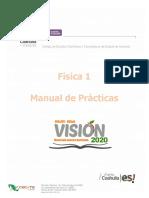 Manual de Prácticas Física 1