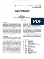 Analysis of Reheater Size Impact on Power Plant Performance