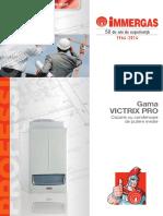 Centrale termice condensare incalzire, IMMERGAS – Victrix Pro - Pliant.pdf