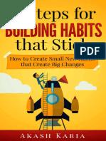 Akash Karia - Habits for Life 9 Steps for Building Habits That Stick