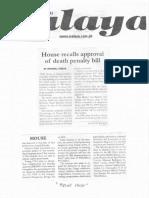 Malaya, Feb. 7, 2019, House recalls approval of death penalty bill.pdf