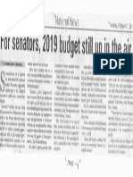 Manila Bulletin, Feb. 7, 2019, For senators, 2019 budget dtill up in the air.pdf