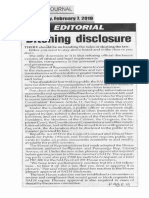 Peoples Journal, Feb. 7, 2019, Ditching disclosure.pdf