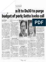 Philippine Daily Inquirer, Feb. 7, 2019, Ping leave it to Du30 to purge budget of pork, Sotto backs call.pdf