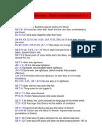 Bible Inconsistencies - Bible Contradictions Part 2