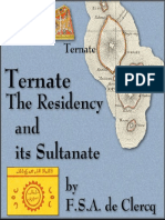 F.S.a. de Clercq - Ternate_ the Residency and Its Sultanate-Smithsonian Ins