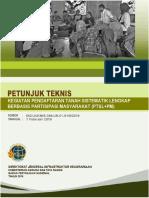 Juknis PTSL Berbasis Partisipasi Masyarakat 2019