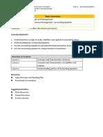 E4-1 Accounting Equation