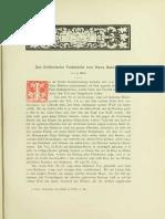 1885-Das Kellerische Todesbild Von Hans Baldung (J. Oeri)
