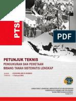 PETUNJUK TEKNIS PENGUKURAN DAN PEMETAAN BIDANG TANAH PTSL 2019