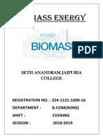 Biomass Energ Final1)