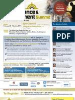 Defense Maintenance & Sustainment Summit 2011 Brochure