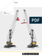 Liebherr Lhm 420 Mobile Harbour Crane Datasheet English