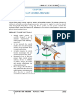 aircraft control surface system
