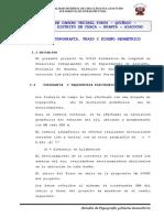 5 Trazo y Diseño Geometrico Tramo II