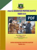 Profil Kesehatan Prov Banten 2010