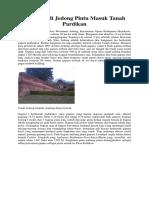 Situs Candi Jedong Pintu Masuk Tanah Pardikan