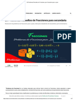 20 Problemas Resueltos de Fracciones para Secundaria paso a paso.pdf